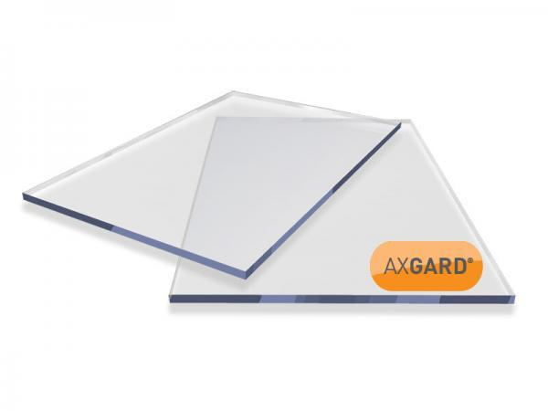 10mm Clear Solid Polycarbonate Sheet 2050mm x 3050mm