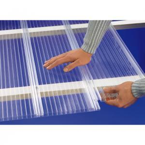 16mm Interlocking Polycarbonate Sheet 250mm wide
