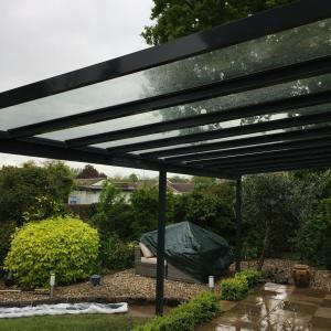 Glass Roof Garden Veranda