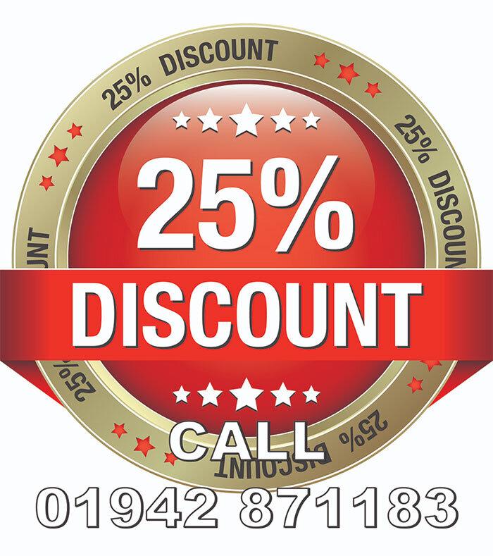 25 % discount