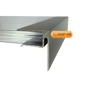 4.8m Aluminium End Closure for 25mm Glazing
