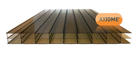 16mm Bronze Triplewall Polycarbonate Sheet