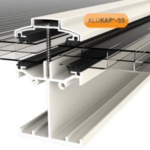 6.0m Self Supporting Glazing Bar for Glass or Polycarbonate Sheet Any Thickness