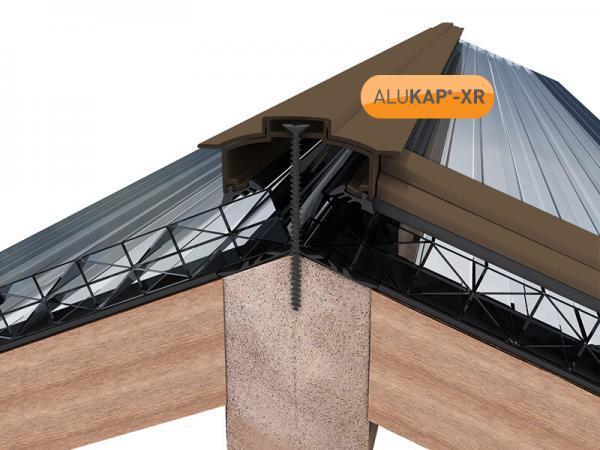 45mm Wide 4.8m Alukap XR Aluminium Rafter Supported Hip Bar