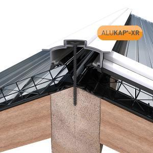45mm Wide 4.8m Alukap XR Aluminium Rafter Supported Hip Bar