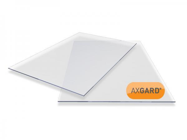 10mm Clear Solid Polycarbonate Sheet 2050mm x 500mm