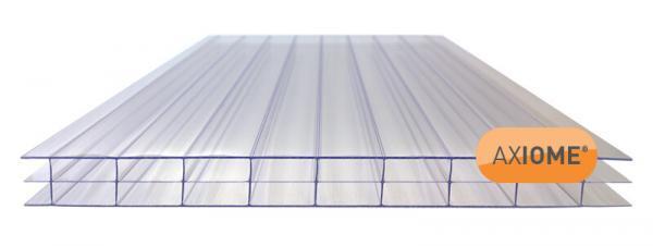 16mm Clear Triplewall Polycarbonate Sheet