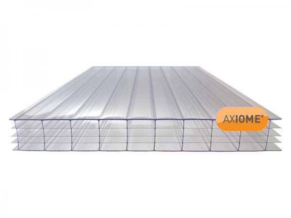25mm Clear Multiwall Polycarbonate Sheet