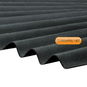 Corrugated Black Bitumen Sheet 930 x 2000 HIGH PROFILE