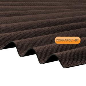 Corrugated Brown Bitumen Sheet 930 x 2000 HIGH PROFILE