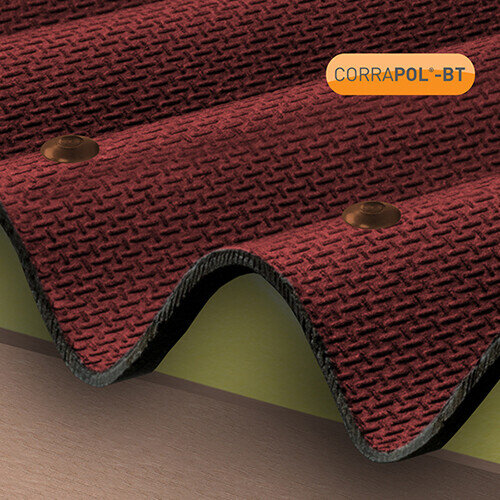 Red Corrugated Bitumen Fixings 100pk
