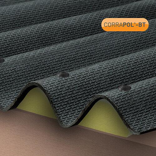 Corrugated Bitumen Foam Eaves Fillers 4pk
