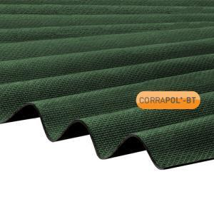 Corrugated Green Bitumen Sheet 930 x 2000 HIGH PROFILE