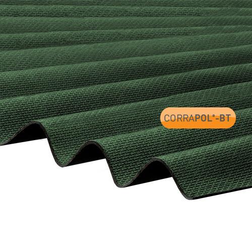 Corrugated Green Bitumen Sheet 930 x 2000 HIGH PROFILE