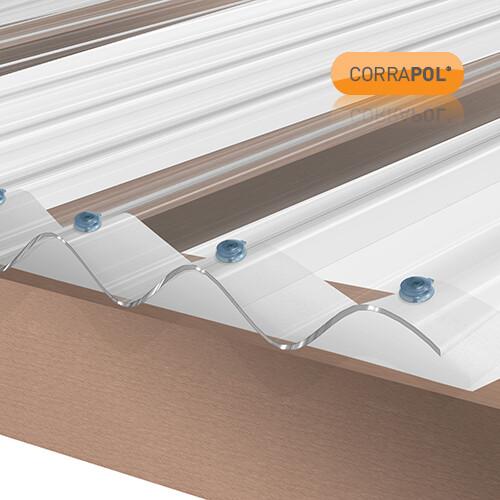 Foam Eaves Filler Low Profile Corrugated Sheet 900mm each