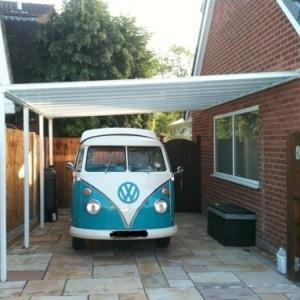 Up to 3.0m Length EVOLUTION 16mm Polycarbonate Roof Canopy System