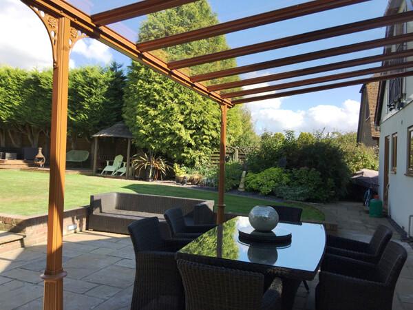 Glass Roof Carport, Patio Cover And Veranda
