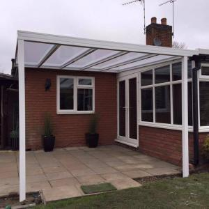 5.0m Wide EVOLUTION 16mm Polycarbonate Roof Canopy System