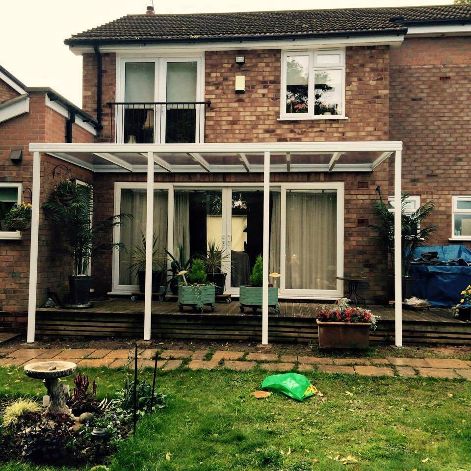 7.0m Wide EVOLUTION 16mm Polycarbonate Roof Canopy System