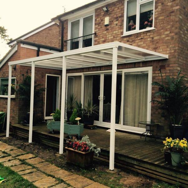 Up to 7.0m Length EVOLUTION 16mm Polycarbonate Roof Canopy System