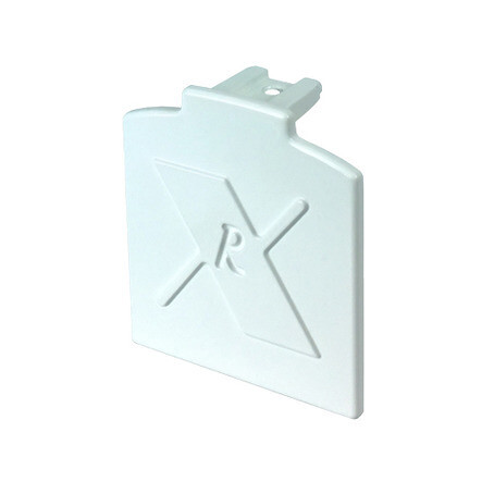Additional End Caps for Alukap XR Aluminium Rafter Supported Bars (available in any colour)
